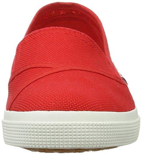 Superga 2210 Cotw, Mocasines para Mujer Rot (Red-White)