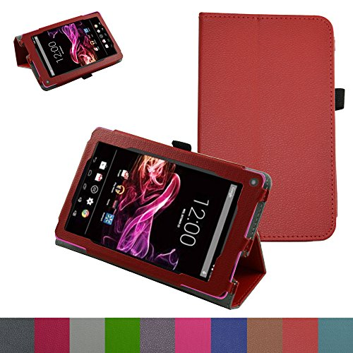 RCA 7 VOYAGER II Case,Mama Mouth PU Leather - 7 Inch Rca Tablet Hard Case
