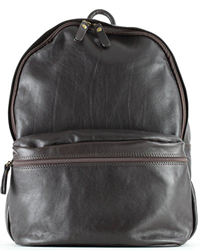 Histoiredaccessoires Sa143328au Bag isabella Brown Leather Genuine Dark rwqRrpA