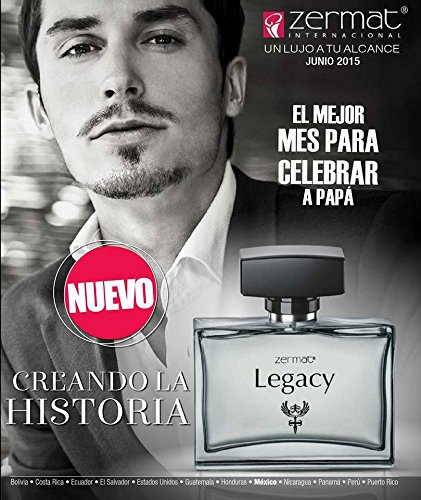 Amazon.com : Zermat Legacy Fragrance for Men 3.4oz, Fragancia Para Caballero 100ml : Beauty