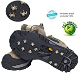 Ice Traction Cleats for Walking, Jogging, or Hiking on Snow...