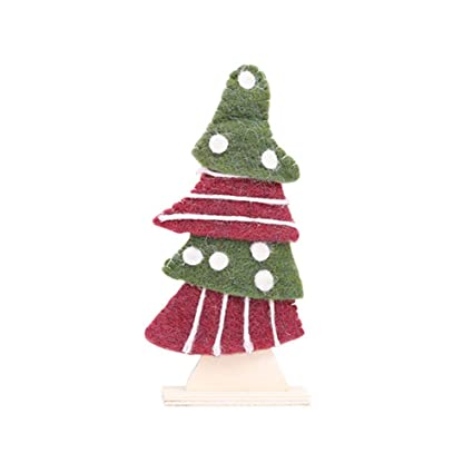 polytree small christmas tree desktop ornament xmas home decoration xmas gift holiday party favourite style 5 - Polytree Christmas Tree