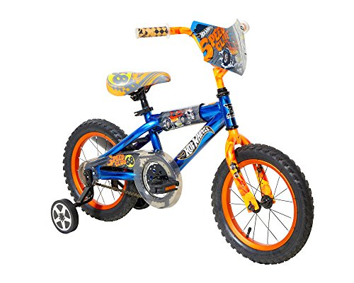 Hot Wheels Dynacraft Bike, Blue, 14'' by Hot Wheels (Image #1)
