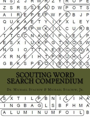 Scouting Word Search Compendium, Camping Word Search Puzzle And Brain Teaser Games, Camp Games Kids And Adults Love