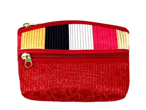 FabCloud bag Rainbow red mini bag by WiseGloves handbag accessory wallet tote purse tote organizer