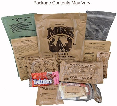 (Beef Brisket MRE Meal - Genuine US Military Surplus Inspection Date 2020 and Up)
