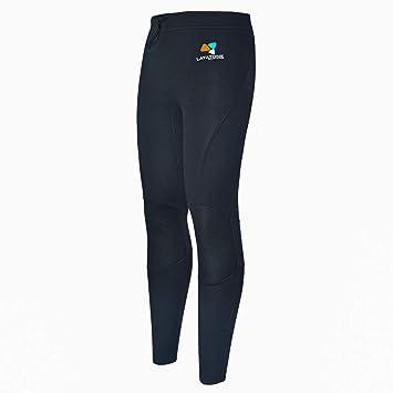 LayaTone Pantalones de Buceo Hombres Mujeres Pantalones Neopreno 3mm / 2mm Surf Snorkeling Kayak Canotaje Pantalones Protección UV Mantener Cálidos ...