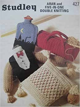 Knitting Pattern Studley 427 Double Knit Or Aran Cushion Draught