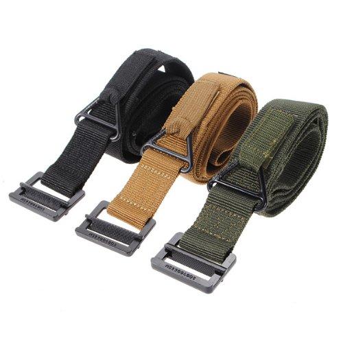 Price comparison product image Survival Tactical Fire Rescue Militaria CQB Belt Waist Strap 3 Colors.