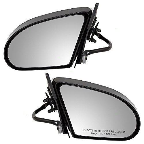 Driver and Passenger Power Side View Mirrors Replacement for Ford Mercury E9SZ 17682 B E9SZ 17682 A