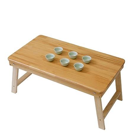 NUODE-Table Mesa Plegable de Madera Gruesa de Soild Mesa Plegable ...