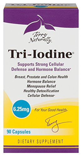 Terry Naturally Tri-Iodine (6.25 mg) - 90 Capsules