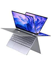 "BMAX Y13 13.3"" 2 in 1 Convertible Laptop, FHD(1920 x 1080) Touchscreen , 8GB DDR4, 256GB SSD, Intel Quad Core N4120, WiFi, Bluetooth, USB-C, Windows 10, Thin and Light All-Metal Body"