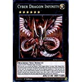 Yu-Gi-Oh! - Cyber Dragon Infinity (BOSH-EN094) - Breakers of Shadow - 1st Edition - Secret Rare by Yu-Gi-Oh!
