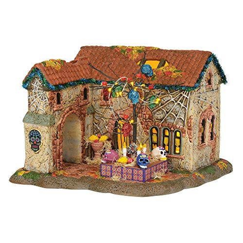 The Day Of Halloween (Department 56 Snow Village Halloween Day of The Dead)