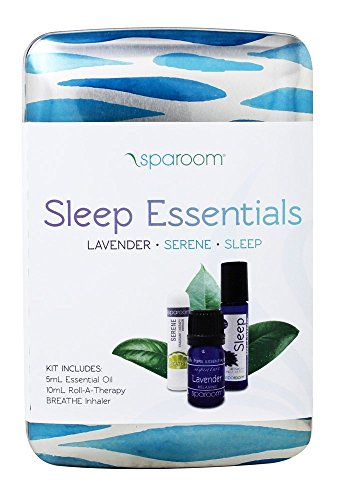 Sparoom Sleep Essentials Oil Travel Pack With Accessory Tin, Aromatherapy, 0.25 Pound by SpaRoom (Image #1)