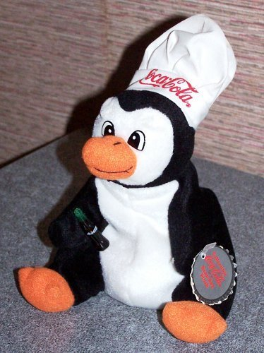 Penquin in Chef's Hat Bean Bag