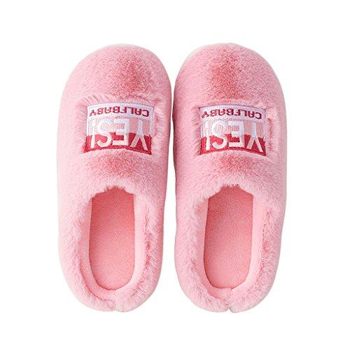 Femmes Dww Des Réchauffent Coton Chaussures Pantoufles Chaussons De Intérieures C Antidérapantes Respirantes D'hiver Les Épaissies qYdXqSw