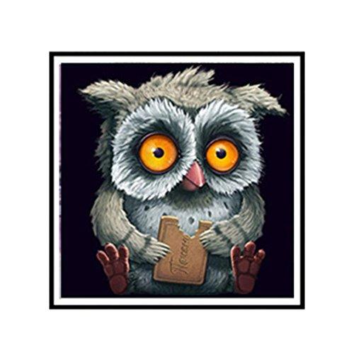 Vibola Meian,Full,Diamond Embroidery,Animal,Owl,5D,Diamond Painting,Cross Stitch,3D,Diamond Mosaic,Needlework,Crafts,