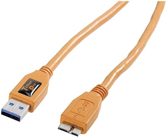 Tetherpro Usb 3 0 Super Speed Micro B Kabel Ca 4 6 M Kamera