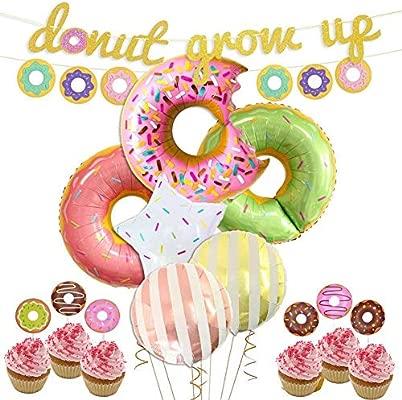 Sroomcla - Decoración de Fiesta con Globo Gigante del Donuts ...