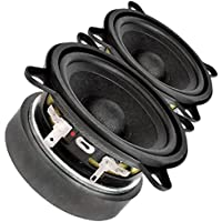 Pair Faital PRO 3FE25 3 Midrange full-range Woofer Speaker 8 ohms 40W 91dB