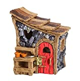 "Miniature Fairy Garden ""Shingletown Garden Shed"" Building For Sale"