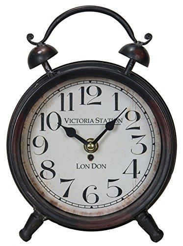 Victoria Station Vintage Desk Clock -