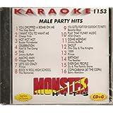 Monster Vol.1153 Karaoke CDG MALE PARTY HITS Fun