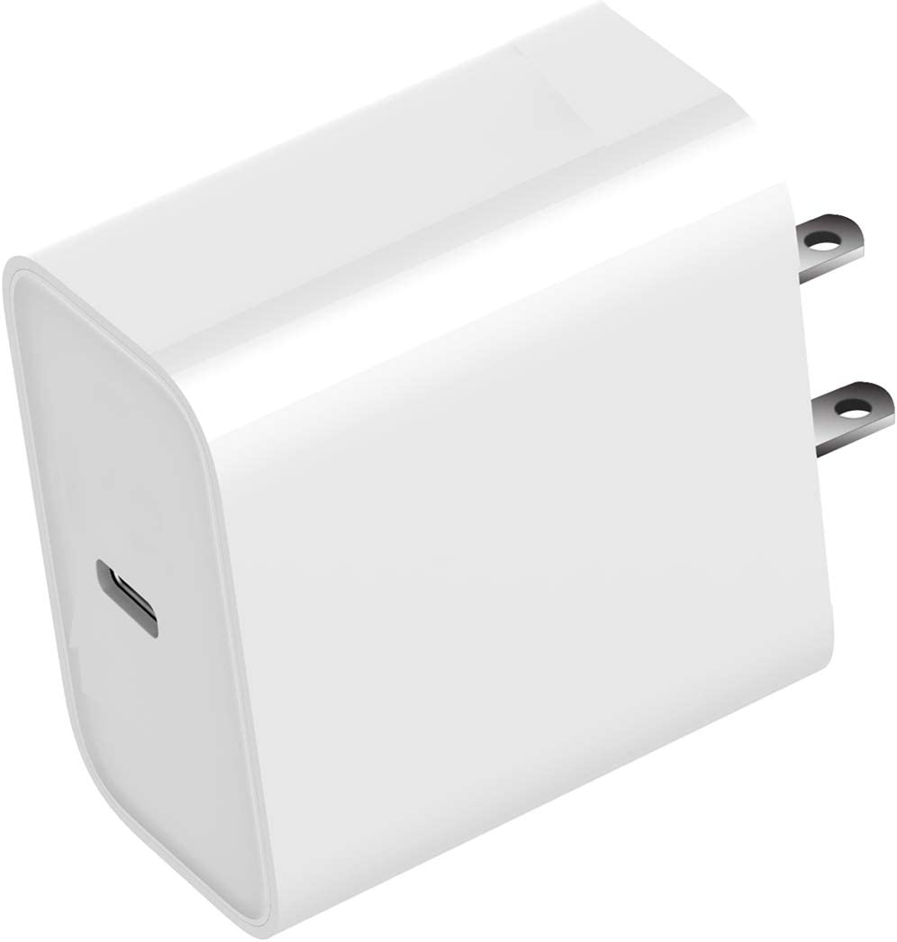 USB C Charger,18W 9V/ 2A 5V/3A Type-c Power Adapter,Compact USB C PD 3.0 Wall Charger,Compatible with Smartphones,Tables and More