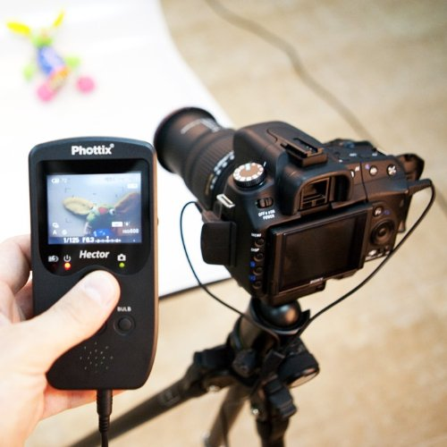 Phottix Hector LiveView Wired Remote Set for Nikon by Phottix