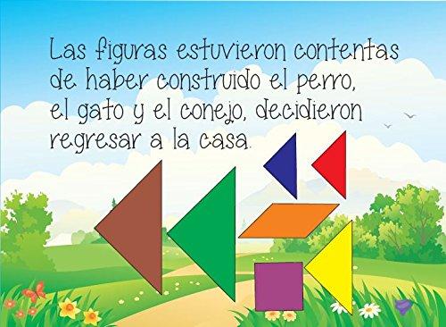 El sueño geométrico de Miguel con el Tangram: Orlando Planchart Márquez, Ana María Bonilla, Luz M. Rivera: 9781935892540: Amazon.com: Books
