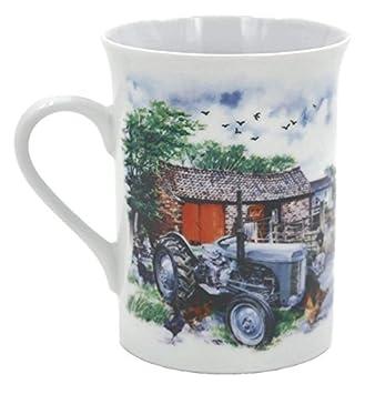 The Grey Fergie À En Tracteur Little De La – Parfait Idéal Céramique Idée Cadeau Noël Mug Classique Café FermeMoutonsPouletArbres m08nNw