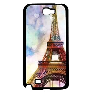 Colorful Paris Eiffel Tower Hard Snap on Phone Case (Note 2 II)