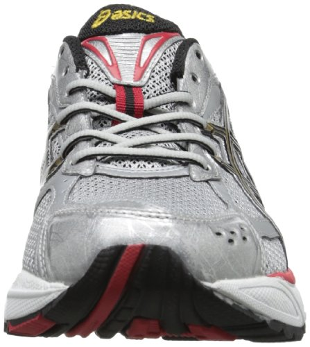 Asics Hombres Gel-foundation 8 Running Shoe Lightning / Black / True Red