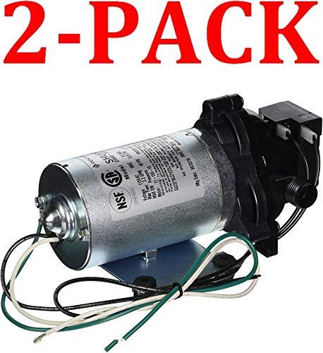 SHURflo Industrial Pump - 198 GPH, 115 Volt, 1/2in, Model# 2088-594-154 (Silver, 2-Pack)
