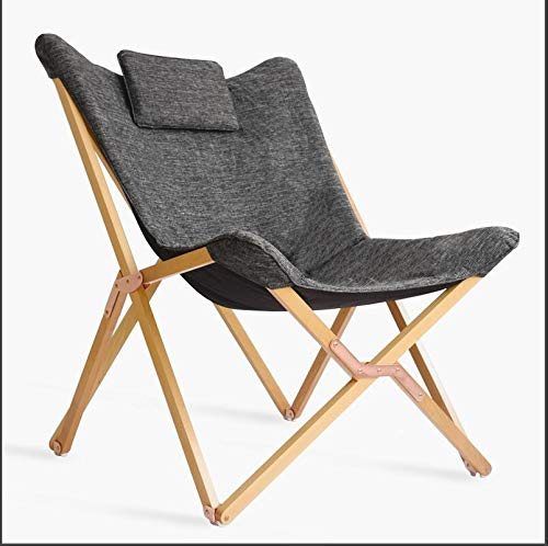 Silla de salón portátil de Madera con sillones reclinables ...