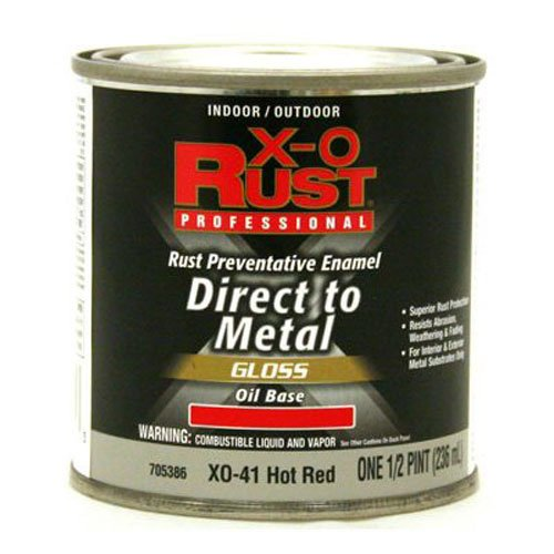 True Value XO41-HP XO Rust Protection Rust Protection 1/2PT Red Oil Enamel by True Value