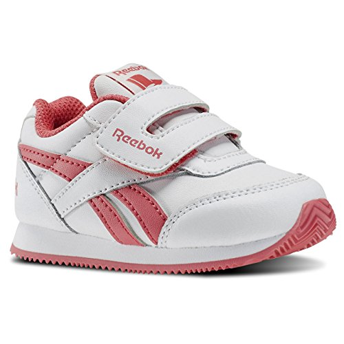 Reebok Unisex Baby Royal Cljog 2 KC Sneaker Blanco / Rosa (White/Fearless Pink)