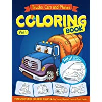 trucks planes and cars coloring book cars coloring book for kids toddlers - Childrens Coloring Books