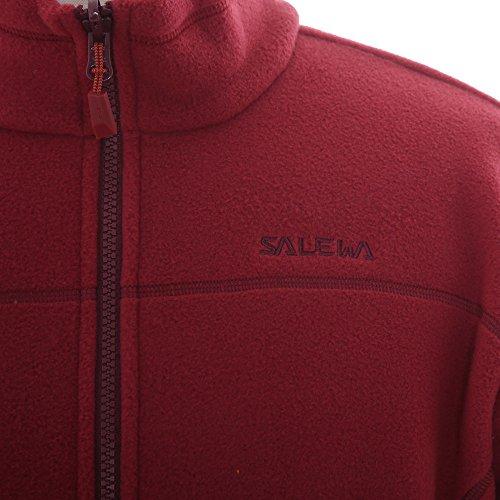 Salewa Herren Fleecejacke Buffalo 3 PL FZ 24883 Velvet Red L
