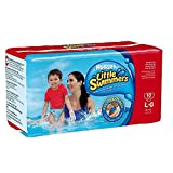 Huggies Little Swimmers Disposable Swimpants Swim Diapers, Large Fits 32+ lbs Cs/40 (4/10s) Image