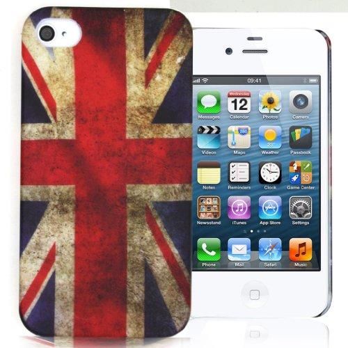 Accessory Master 5055716362190 Jahrgang Union Jack Schutzhülle für Apple iPhone 4S