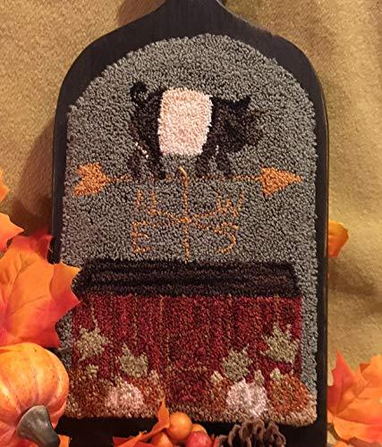 Punch Needle Embroidery PIG N PUMPKIN FARM