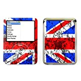 Union Jack - Lapjacks adhesive vinyl sticker for Apple iPod nano 3rd generation
