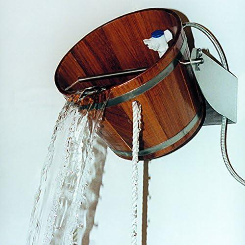 Cubo de alcachofa de ducha para exteriores: Amazon.es: Jardín