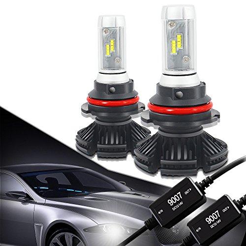 9007 led headlight bulb 8000k - 3