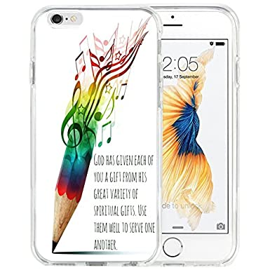 Iphone 7 Case Tpu Non Slip High Definition Printing Though She Be