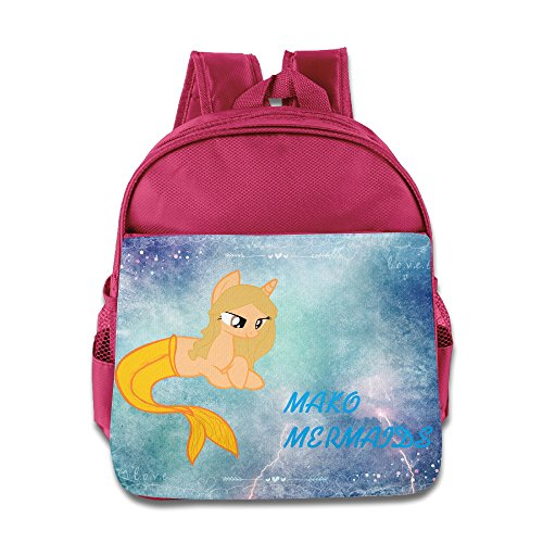Custom Cool Jewelry (Logon 8 Mako Mermaids Cool School Bags Pink For 3-6 Years Olds Girls)