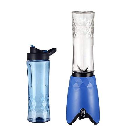 Mini mezclador de zumo de doble taza de 500 ml x 2 exprimidor ...